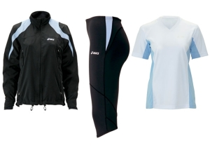 Asics Technical Clothing for runners and those with active lifestyles